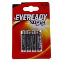 Батарейки AAA Energizer Eveready Super 4шт уп