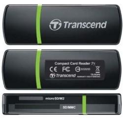 Картридер внешний Transcend TS-RDP5K черный