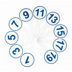Веер-касса Спейс цифр от 1 до 20 (ВК 9334 / ВК05)