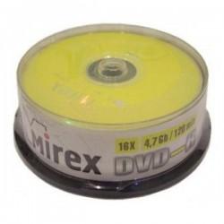 Диск DVD-R 50шт Mirex 4.7Gb 16x Bulk (UL130003A1T)