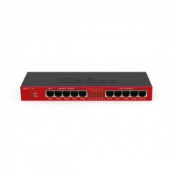 Маршрутизатор Mikrotik RB2011iL-IN (no Wi-FI 5xLAN 1000 Mbps+5xFast ethernet,1 PoE)