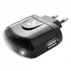 Зарядное устройство - USB 1.2A Vertex Slim Line черное