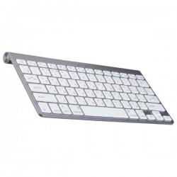 ККлавиатура беспроводная Jet.A SlimLine K9 BT ультракомпактная, Bluetooth, серебро