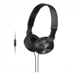 Гарнитура Sony MDR-ZX310AP накладные, 24Ом, 98дБ, кабель 1.2м, Black