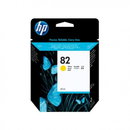 Картридж струйный HP C4913A №82 для DJ 500/800/815/820 Yellow 69ml