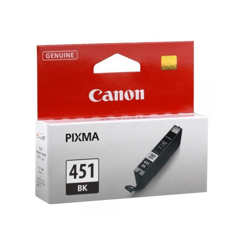 Картридж струйный CANON CLI-451 Bk для PIXMA iP7240/ MG6340/ MG5440 Black (6523B001)