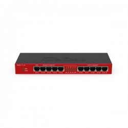 Маршрутизатор Mikrotik RB2011iLS-IN (no Wi-FI 5xLAN 1000 Mbps+5xLAN 100 Mbps 1 PoE,1 SFP)