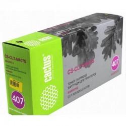 Картридж лазерный Cactus CS-CLT-M407S для Samsung CLP-325 CLX-3185 пурпурный (1000 стр)
