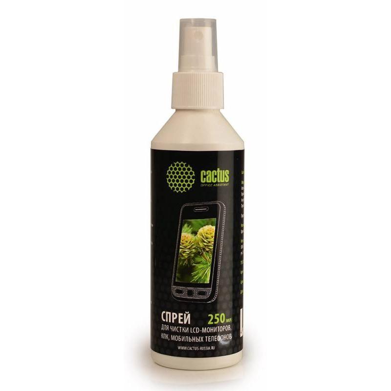 Спрей для чистки ЖК мониторов Cactus CS-S3002 250мл