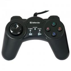 Геймпад Defender Game Master G2 проводной, для РС, 13 кнопок, кабель 1.5м, Black