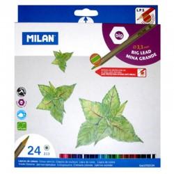 Карандаши 24цв. MILAN (722124)