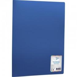 Папка с 20 вкл. OfficeSpace 17мм. 400мкм. синяя (F20L2 282)