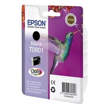 Картридж струйный EPSON T0801 (C13T08014011) для Stylus Photo P50/PX660/PX720WD Black