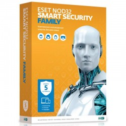 Антивирус ESET NOD32 Smart Security Family (лицензия, 1год, 5ПК, NOD32-ESM-NS(BOX)-1-5)