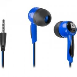Наушники Defender Basic 604 вставные, 32Ом, 85дБ, кабель 1.2м, Black/Blue