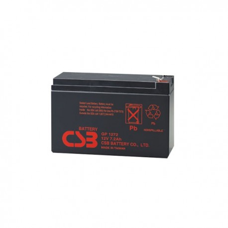 Аккумулятор CSB GP1272 12V,7Ah,F2 (в94+6/д151/ш65)