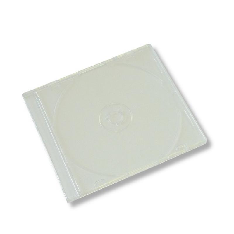 Коробка на 1CD Slim прозрачная