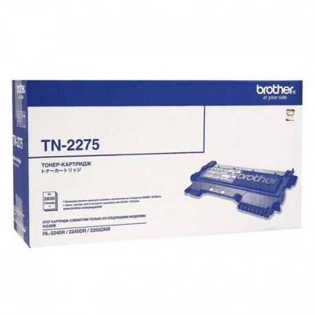 Картридж лазерный Brother TN-2275 для DCP-7070DWR,DCP-7065DNR,HL-2240DR,MFC-7860DWR,HL-2250DNR,DCP-7060R,HL2240R черный (2600 стр)