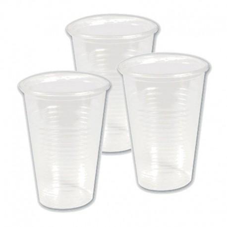 Одноразовый стакан прозрачный 0.2л.