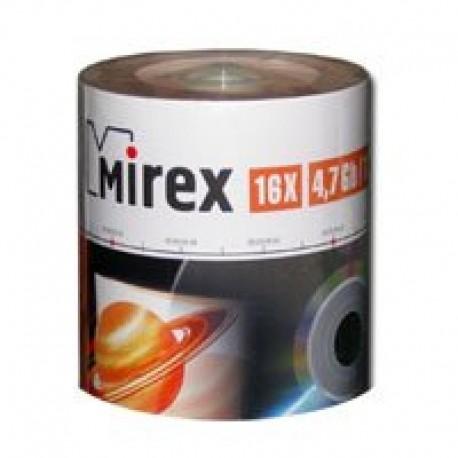 Диск DVD+R 50шт Mirex 4.7Gb 16x Cake Box (UL130013A1B)