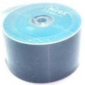 Диск CD-RW  50шт Mirex 700Mb 4-12x Bulk UL121002A8T