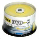 Диск DVD-R  50шт Mirex 4.7Gb 16x Cake box  UL130003A1B