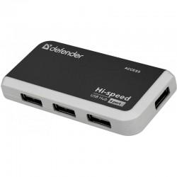 USB Хаб 4xUSB 2.0 DEFENDER Quadro Infix