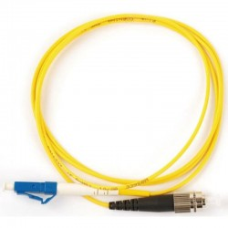 Патч-корд оптический FC/UPC-LC/UPC 1м NIKOMAX NMF-PC1S2A2-FCU-LCU-001 SM 9/125 одинарный O465