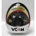 Кабель HDMI-HDMI   1.8м VCOM ver.1.4. 1080P. 24K GOLD разъёмы,2 фильтра (VHD6020D-1.8M)