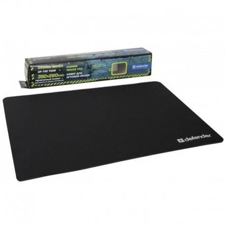 Игровой коврик Defender GP-700 Thor тканевый (350x260x3) Black