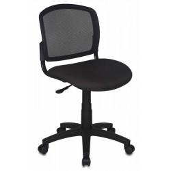 Кресло офисное БЮРОКРАТ CH-296NX/15-21  спинка сетка черная, сиденье черное 15-21