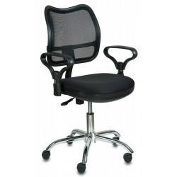 Кресло офисное БЮРОКРАТ CH-799SL/TW-11 (843274) ткань, регулировка высоты, Black