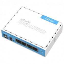 Маршрутизатор MikroTik hAP lite classic (RB941-2nD) (802.11n 300 Mbps 4xLAN)