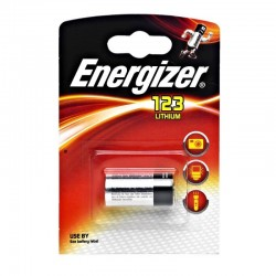 Батарейки CR123A Energizer Photo Lithium 1шт уп