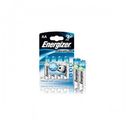Батарейки AA Energizer Maximum 4шт уп 3+1