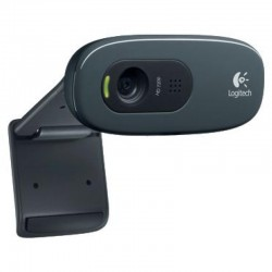 Веб-камера Logitech HD Webcam C270,(960-001063) 1.3МП-(до3)/1280*720 микрофон,крепл на монитор
