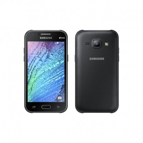 "Смартфон Samsung Galaxy J1 (2016) SM-J120F/DS Black 2sim/4.5""/480*800/4х1.3ГГц/1Gb/8Gb/microSD/5Мп/Bt/WiFi/GPS/And5.1"