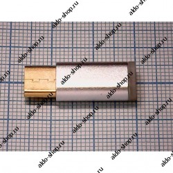Переходник с microUSB female - microUSB type C male