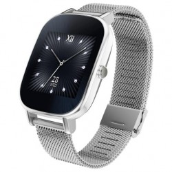 "Смарт-часы Asus ZenWatch 2 (WI502Q) metal Silver 1.45""/280*280/Bt/WiFi/IP67/And,iOS/4*1.2ГГц/512M/4G"