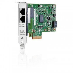 HPE Ethernet Adapter, 361T, Intel, 2x1Gb, PCIe(2.0), for G7/Gen8/Gen9/Gen10 servers