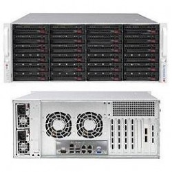 "Supermicro SuperStorage 4U Server 6048R-E1CR24N no CPU(2) E5-2600v3/v4 no memory(24)/ RAID 0/1/5/6/10/50/60 LSI3108SAS3/ no HDD(24)LFF/2x2,5"" Opt./ 4x10Gb/ 2x920W/ Single Expander backplane"