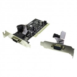 Контроллер PCI=>COMx2 Orient XWT-PS050V2LP (WCH CH351) Low Profile OEM