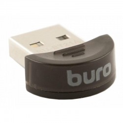 Адаптер Bluetooth USB Buro BU-BT21A Bluetooth 2.1+EDR class 2 10м черный