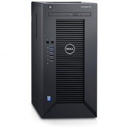 Dell PowerEdge T30 Tower/ E3-1225v5 4C 3.3GHz(8Mb)/1x8GbU2D(2400)/ On-board SATA RAID/ 1x1Tb SATA Entry 7.2k LFF/ UpTo4LFF cable HDD (4th SATA is used by DVD)/ DVDRW/ 1xGE/ PS290W/ 1YBWNBD (210-AKHI)