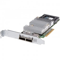 DELL Controller PERC H810 RAID 0/1/5/6/10/50/60 for External JBOD, 1Gb NV Cache, Low Profile - Kit