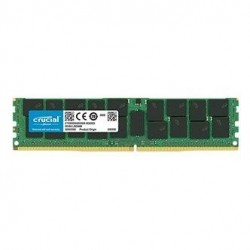 Crucial by Micron DDR4   64GB (PC4-21300) 2666MHz ECC Registered Load Reduced QR x4 (Retail)