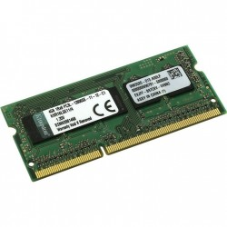 Модуль памяти SO-DDR3L 4096Mb PC12800/1600MHz Kingston KVR16LSE11/4 (ECC,серверная) 1.35V