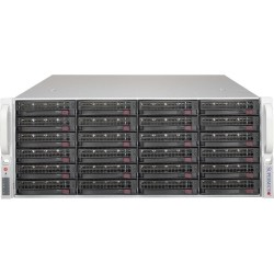 "Supermicro Storage JBOD Chassis 4U 846BE1C-R1K03JBOD Up to 24 x 3.5"" /Expander Backplanes(8xminiSASHD SFF-8643)"