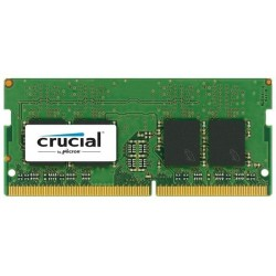 Модуль памяти Crucial by Micron  DDR4   4GB 2400MHz SODIMM  (PC4-19200) CL17 DRx8 1.2V (Retail)