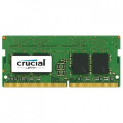 Модуль памяти Crucial by Micron  DDR4  16GB 2400MHz SODIMM  (PC4-19200) CL17 DRx8 1.2V (Retail)
